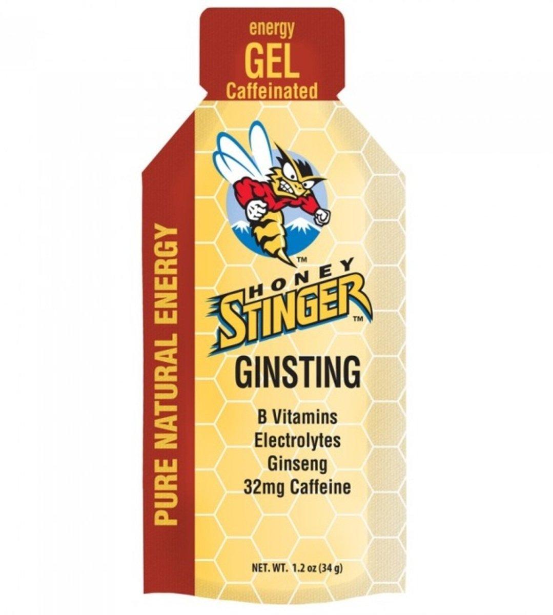 美國蜂蜜能量食品 -  Engery Gel 24 Ginsting Caff. - 6小包