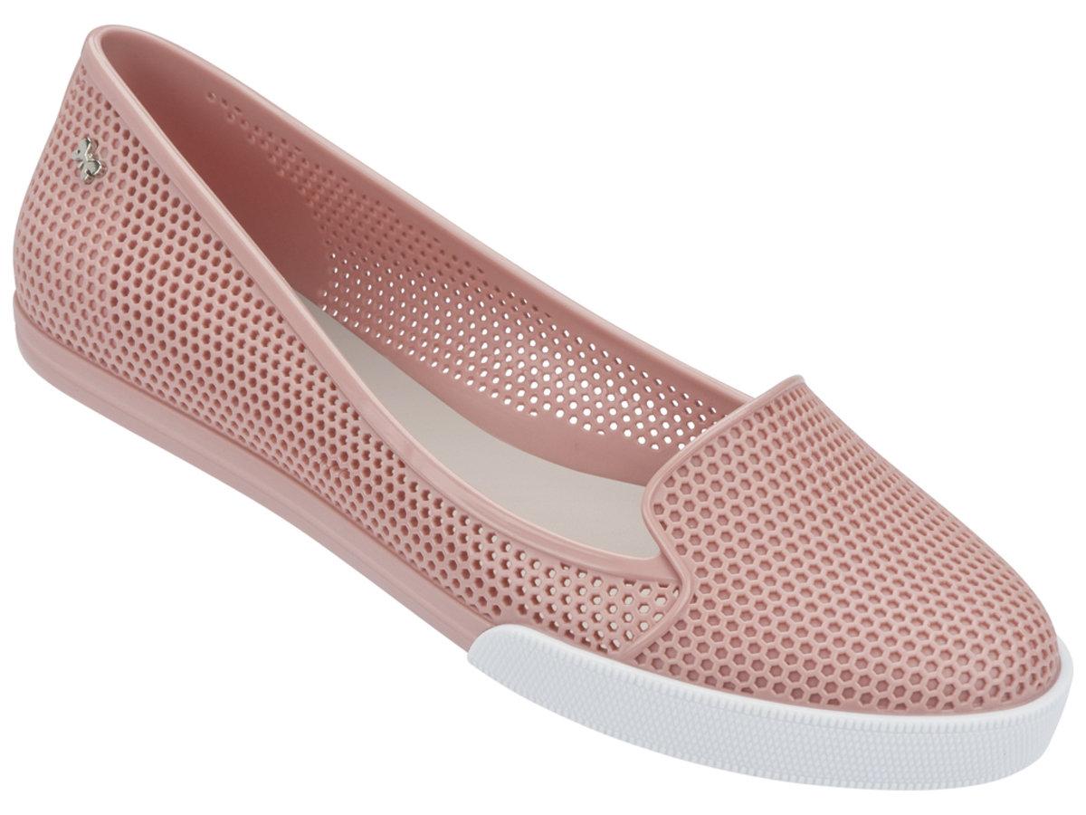 純色悠閒Slip-on - 粉紅色