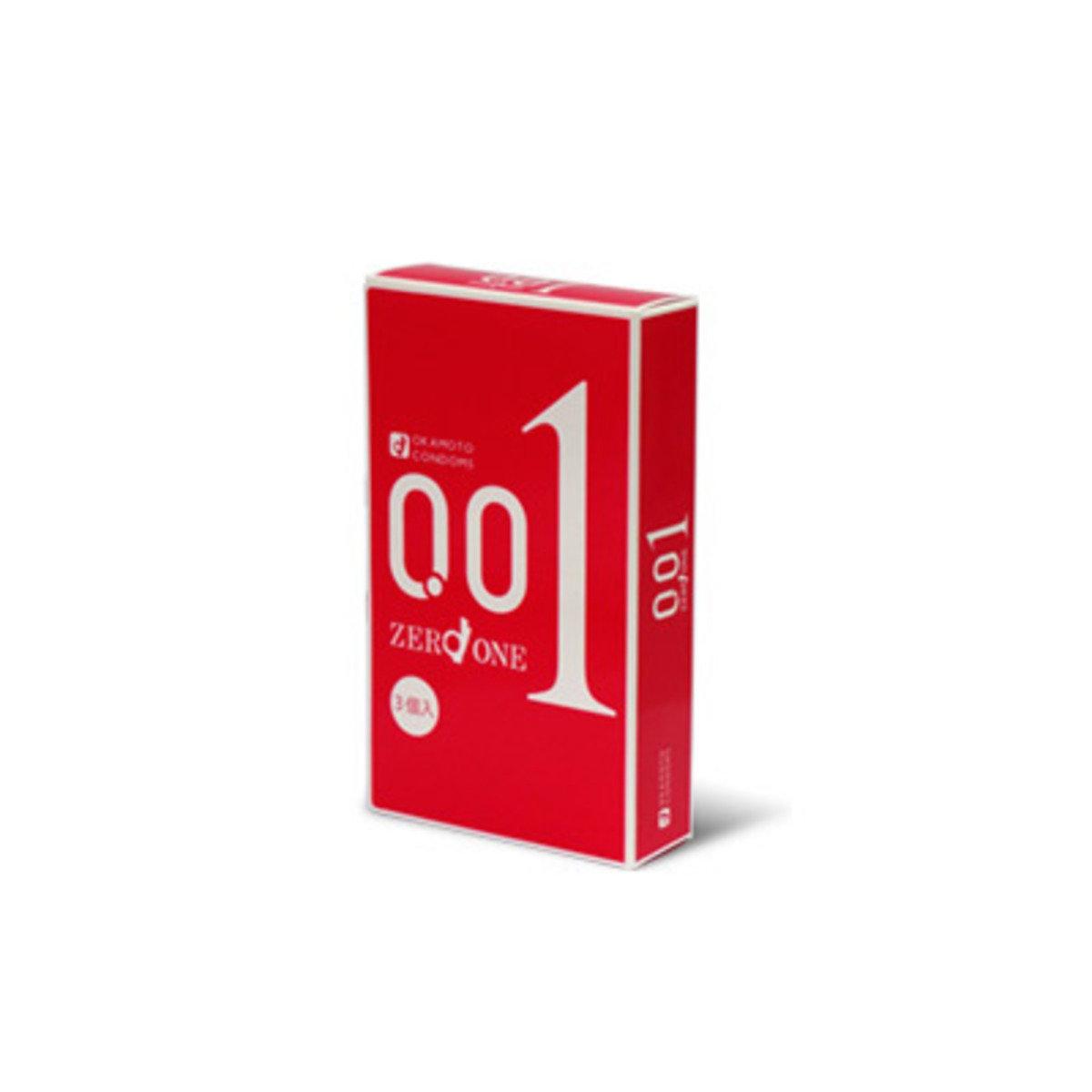 岡本 0.01 (日本版) 3 片裝 PU 安全套