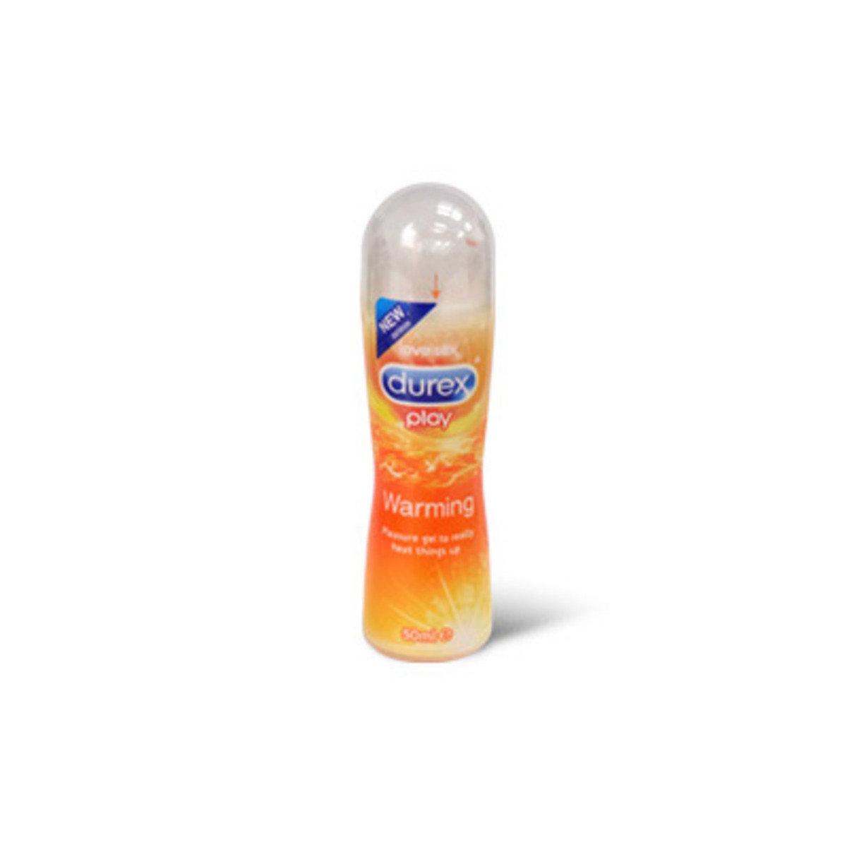 杜蕾斯 Durex Play 熱感潤滑劑 50ml  水性人體潤滑劑