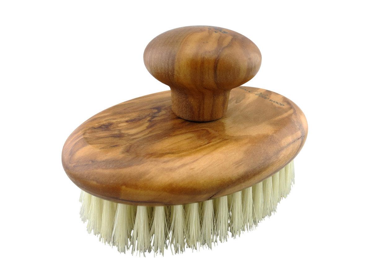 朱鬃毛橄欖木潔毛刷