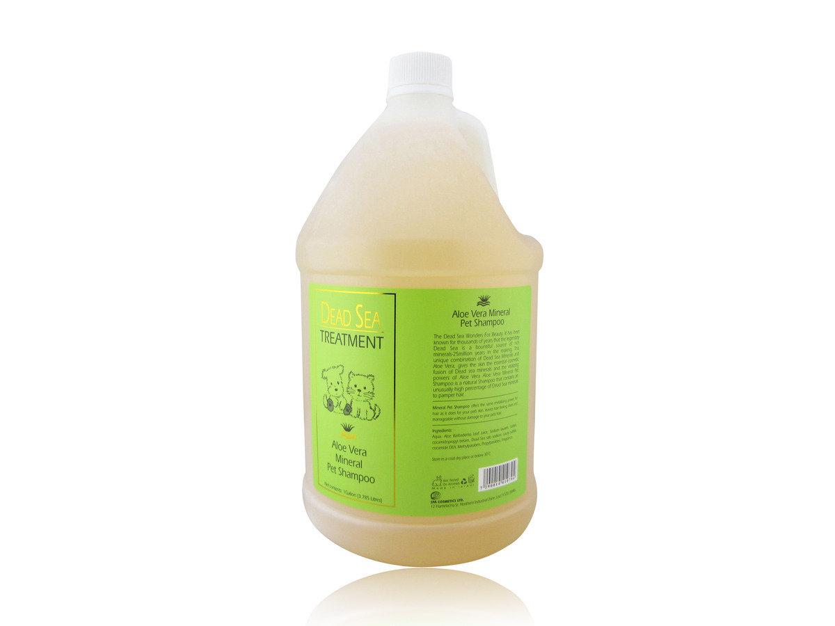 蘆薈鹽滋潤潔毛啫喱 (1加侖)