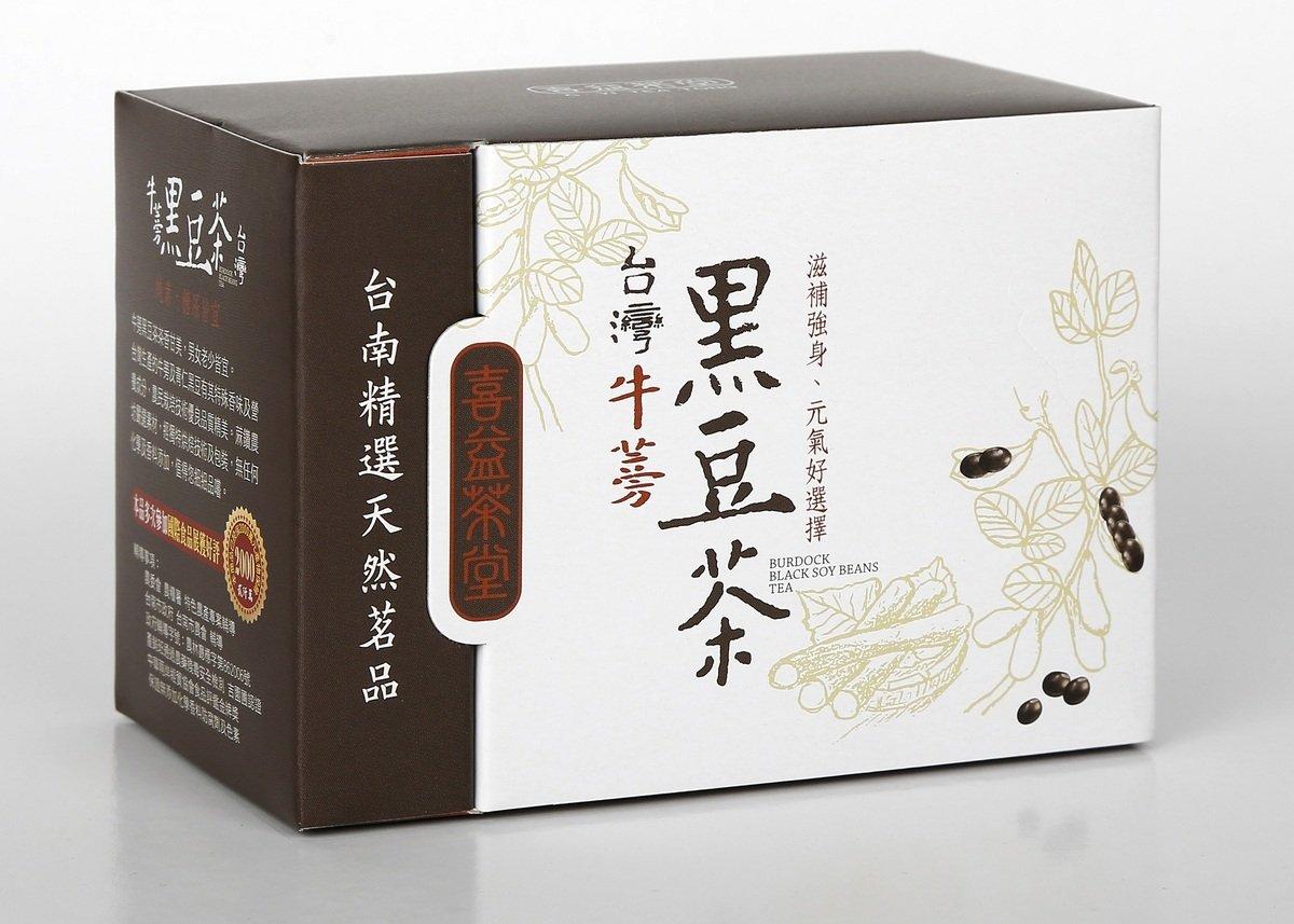 喜益茶堂牛蒡黑豆茶  (3.5克x15包/盒)