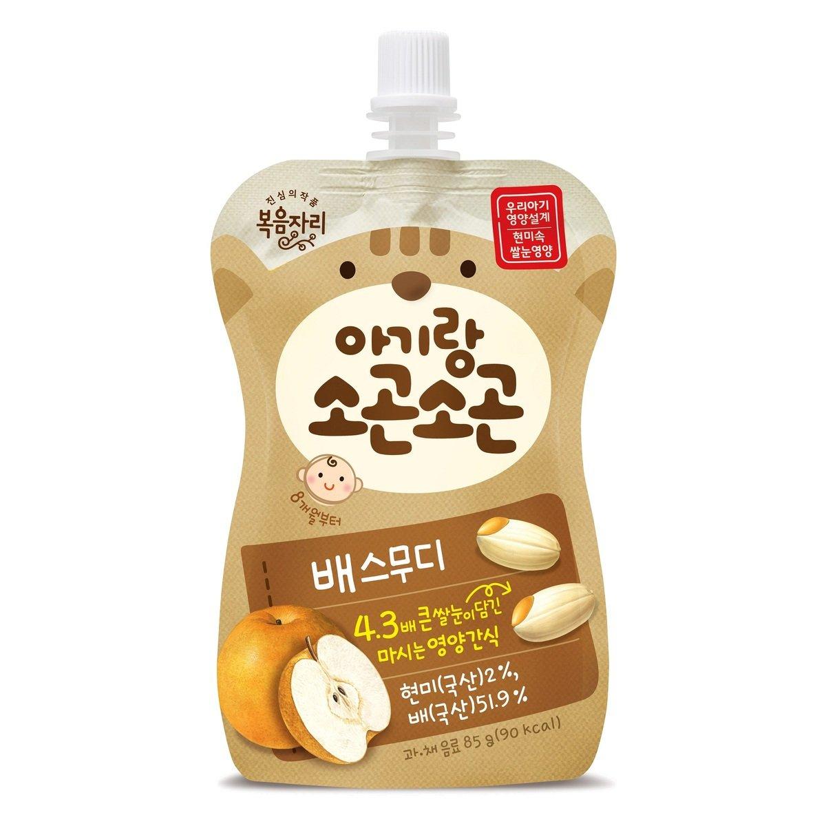 韓國有機胚芽糙米新高梨唧唧果茸 (85克)