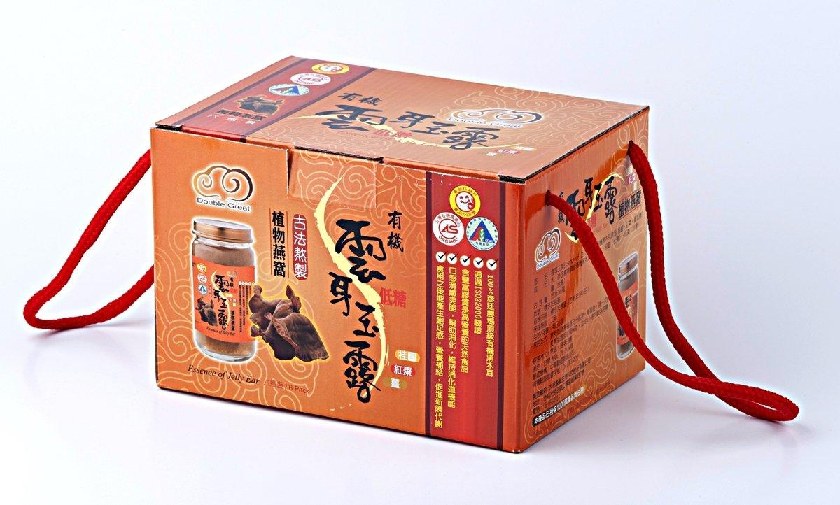 有機低糖雲耳玉露 (桂圓紅棗薑味) 六瓶裝