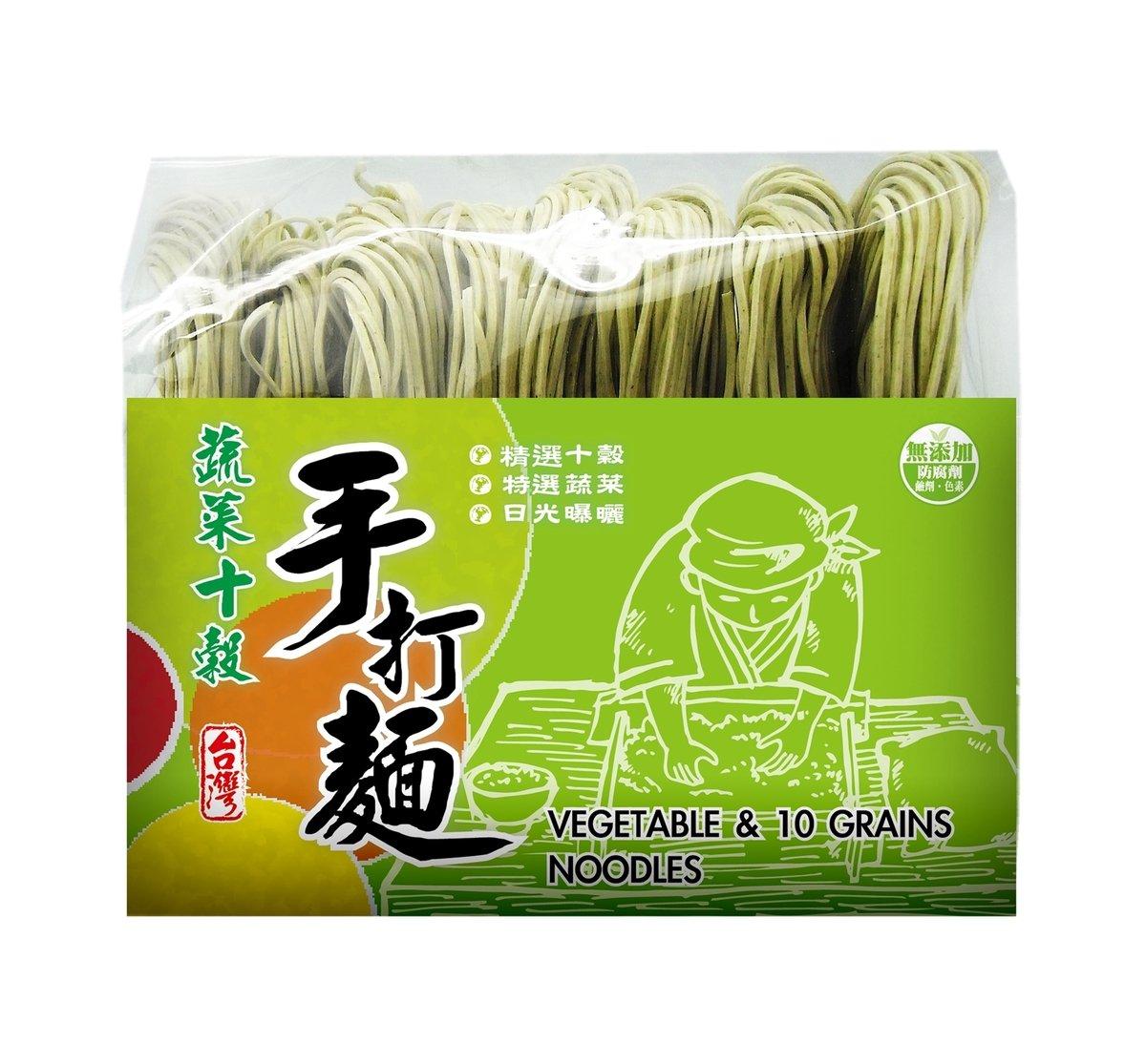 Plus Origina 蔬菜十穀手打麵 (500g/包)