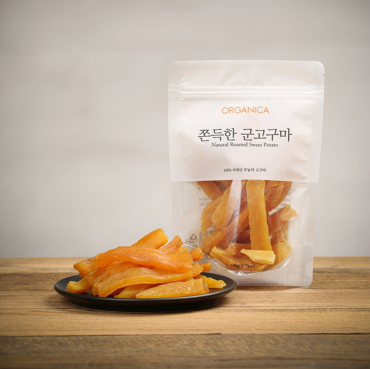 100% 天然烤甜薯