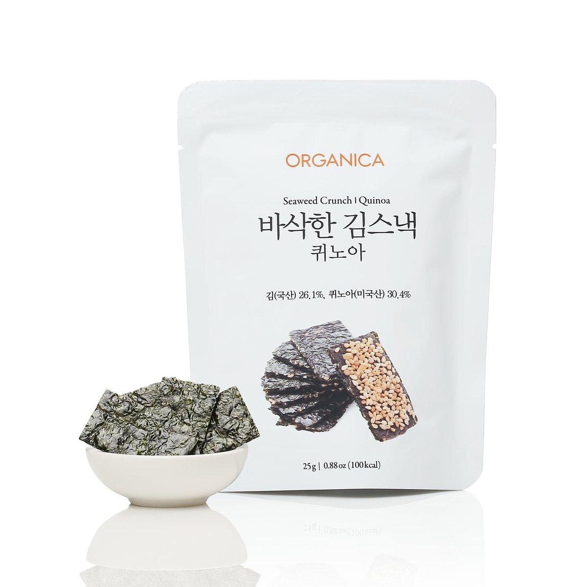 藜麥海苔脆片