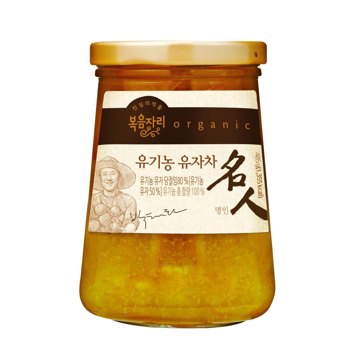 """韓國 Bokumjari """"名人"""" 有機柚子茶 485g"""