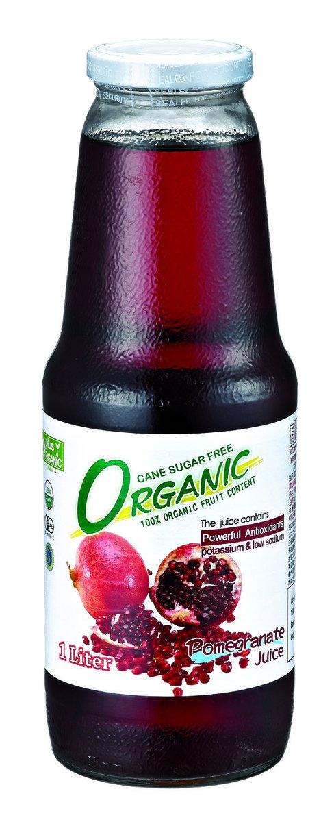 100% 有機紅石榴汁 (1000毫升)