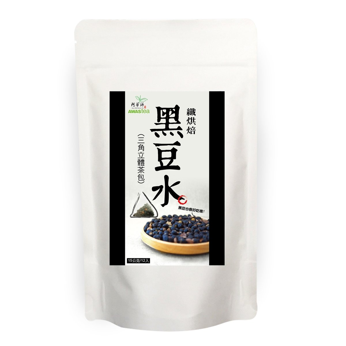 纖烘焙黑豆水 (15克 X 12 袋)