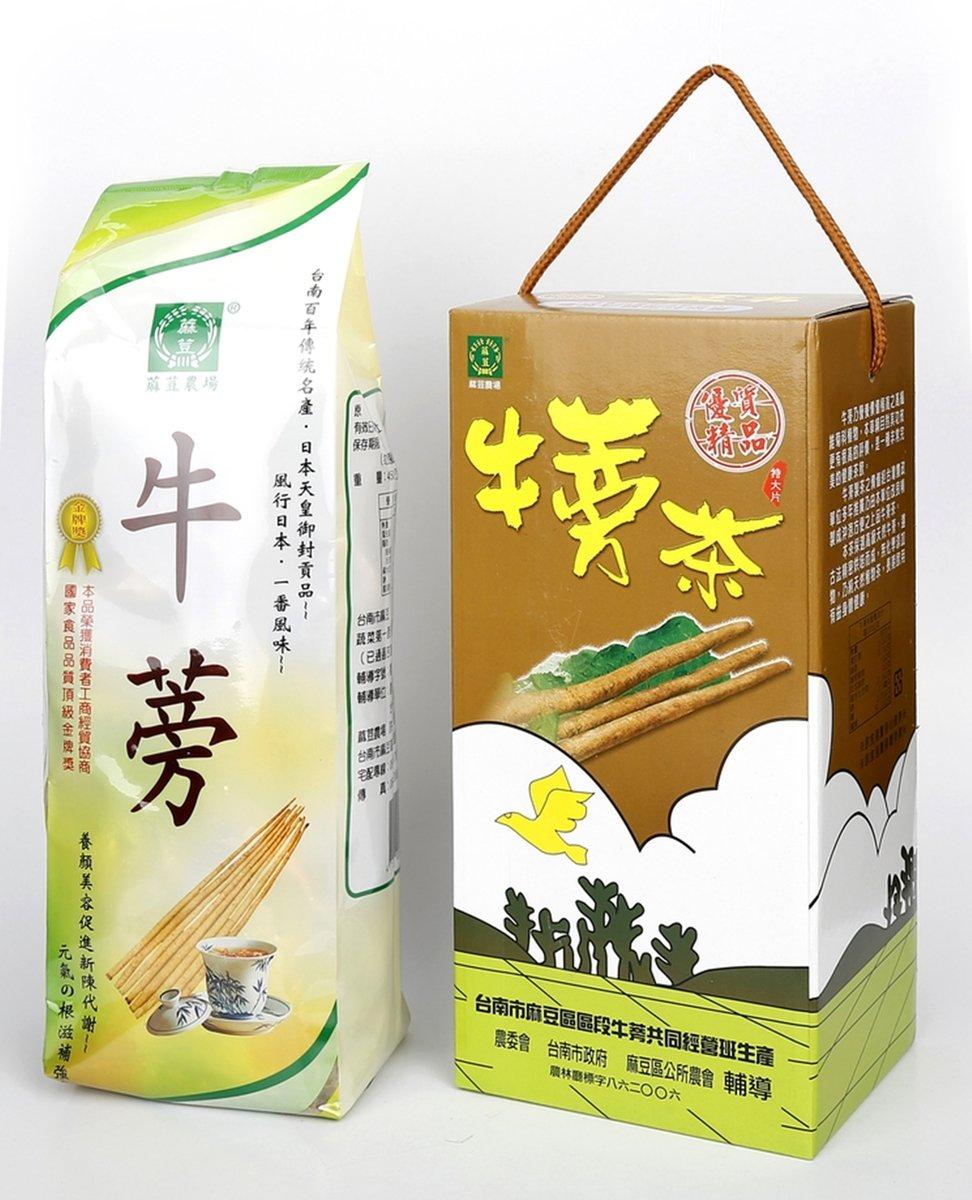 蔴荳農場原片牛蒡茶禮盒裝
