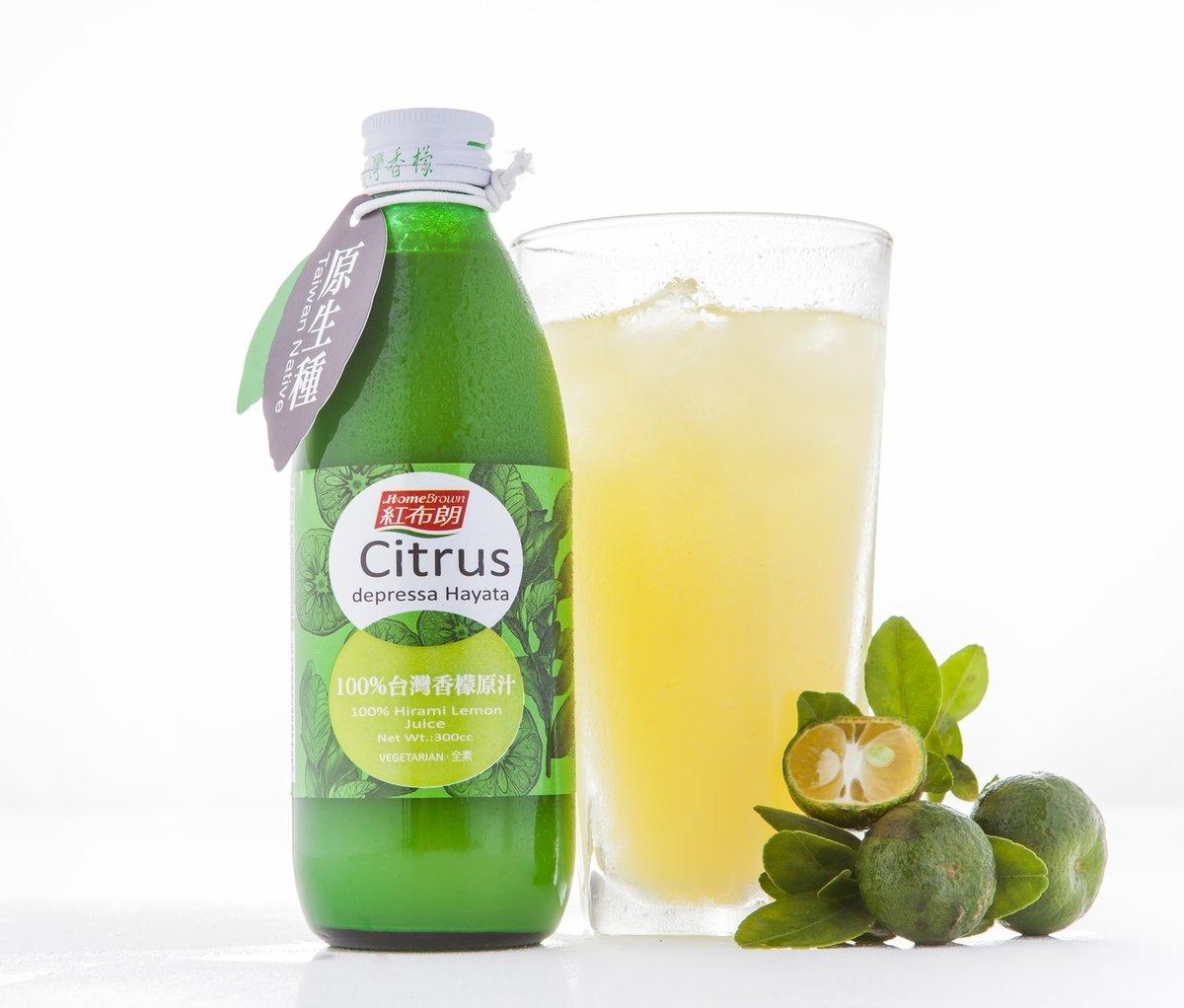 100% 台灣香檬原汁 (原味不加糖)