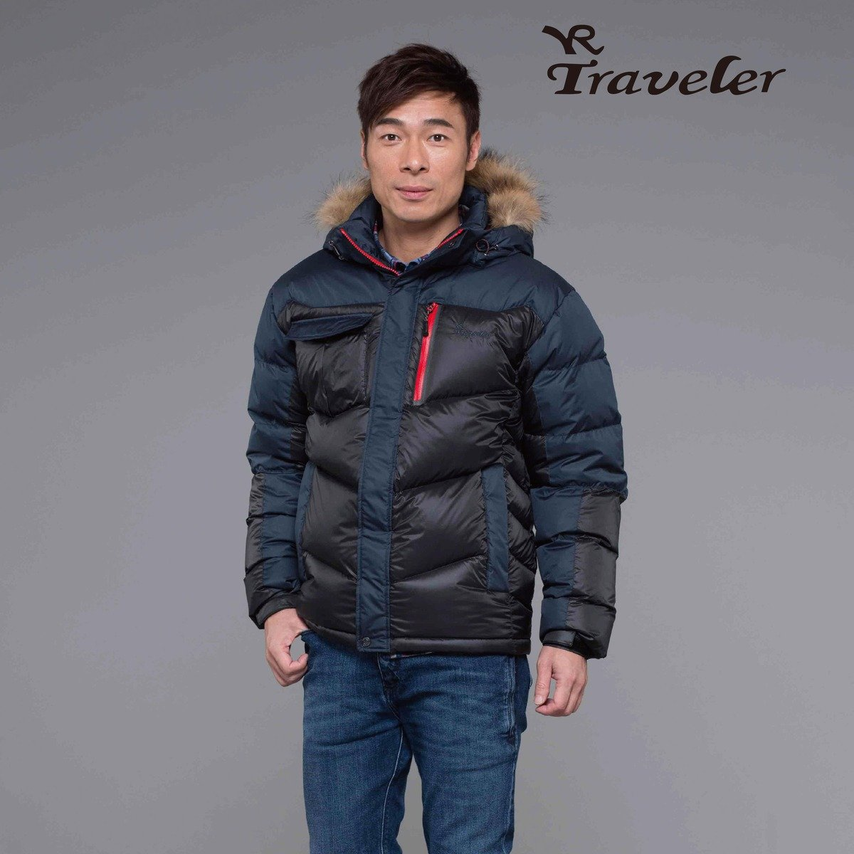 T815105 男裝高效保溫羽絨外套