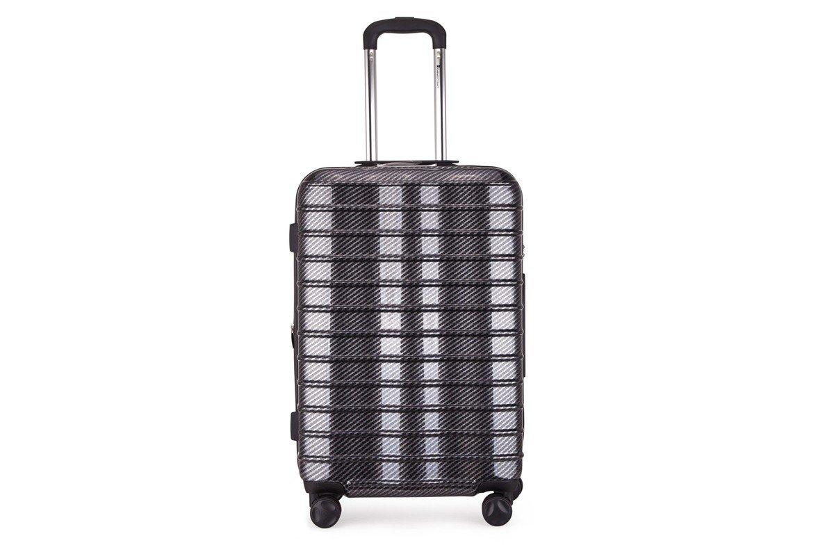 MODEL-802(B)-24吋黑色碳纖維旅行箱
