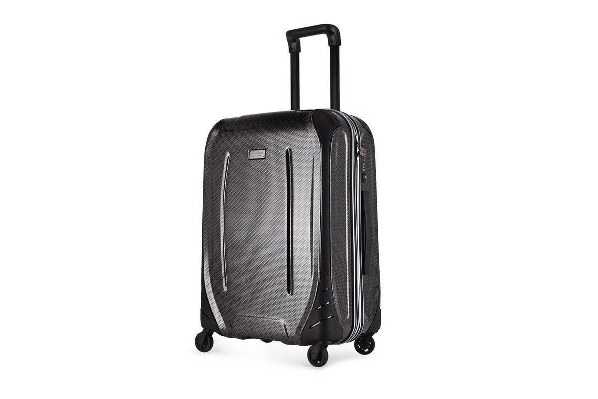 MODEL-804(B)-20吋黑色碳纖維旅行箱