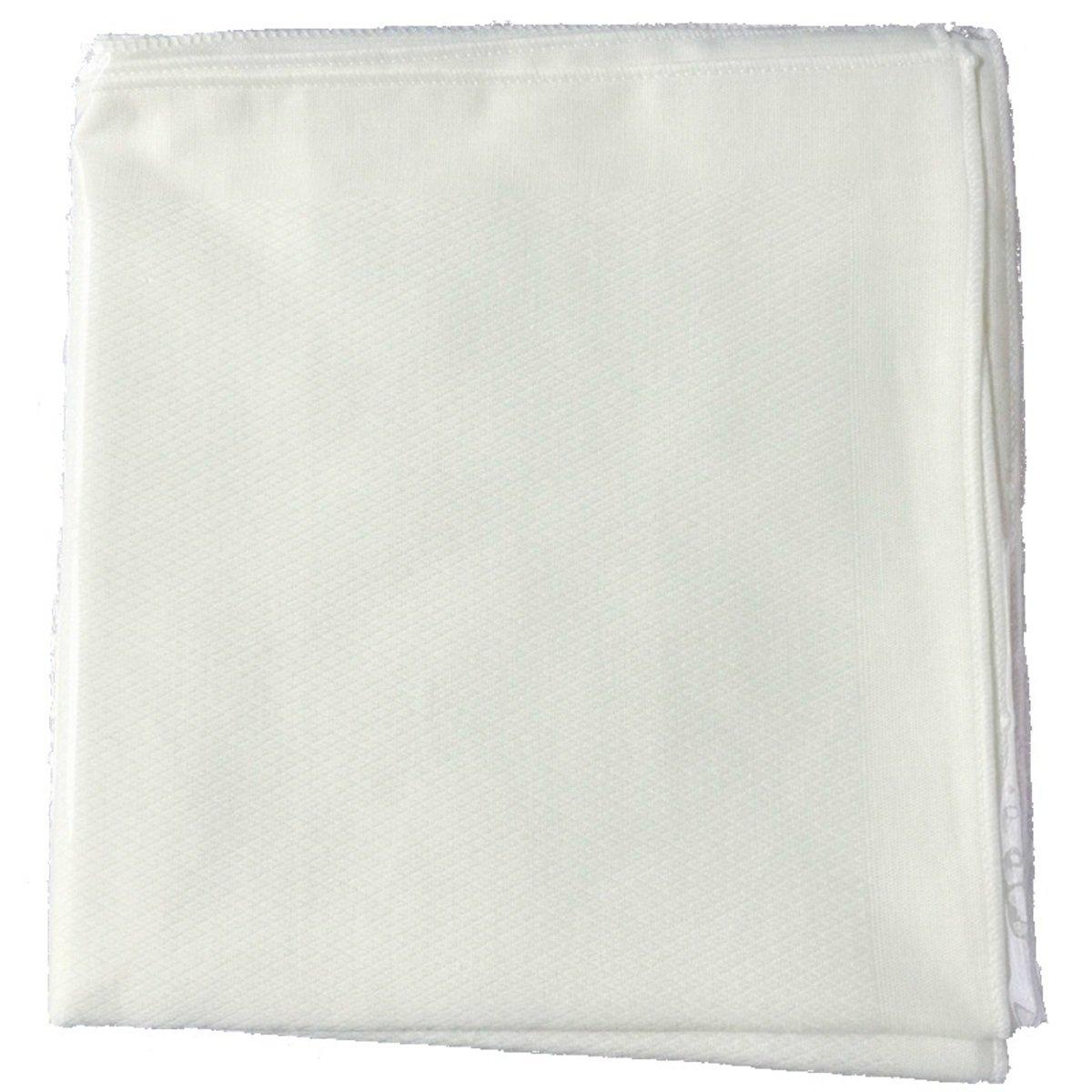 全棉嬰兒紗巾 (純白)