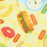 雙面包邊捲裝遊戲墊 (中) - 亞洲之旅 / YumYum食物