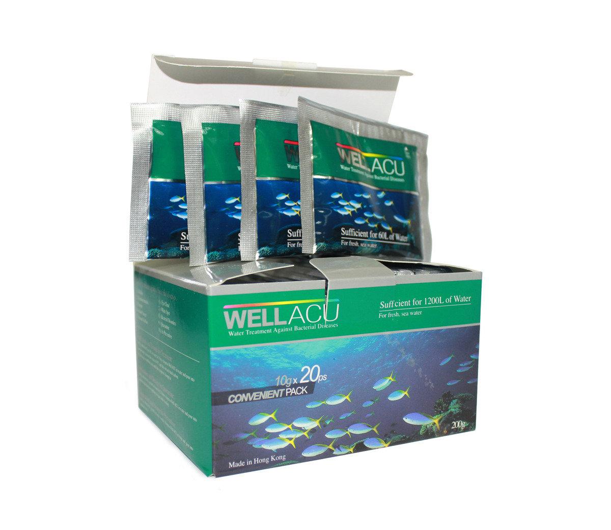 細菌性魚病用藥劑 200g (10g*20小包)