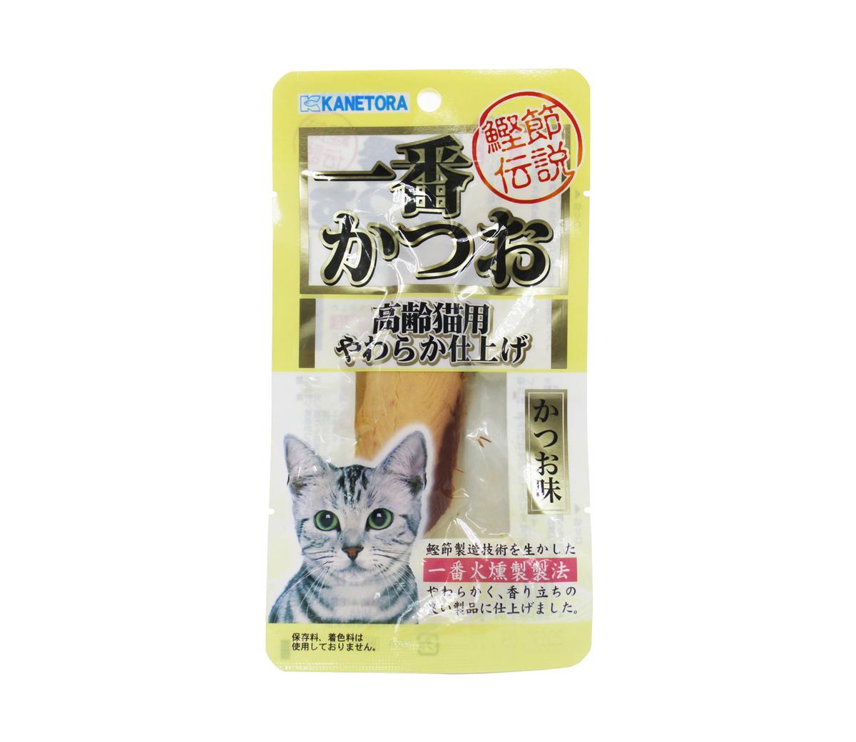 鰹魚條 / 高l齡貓(22克)