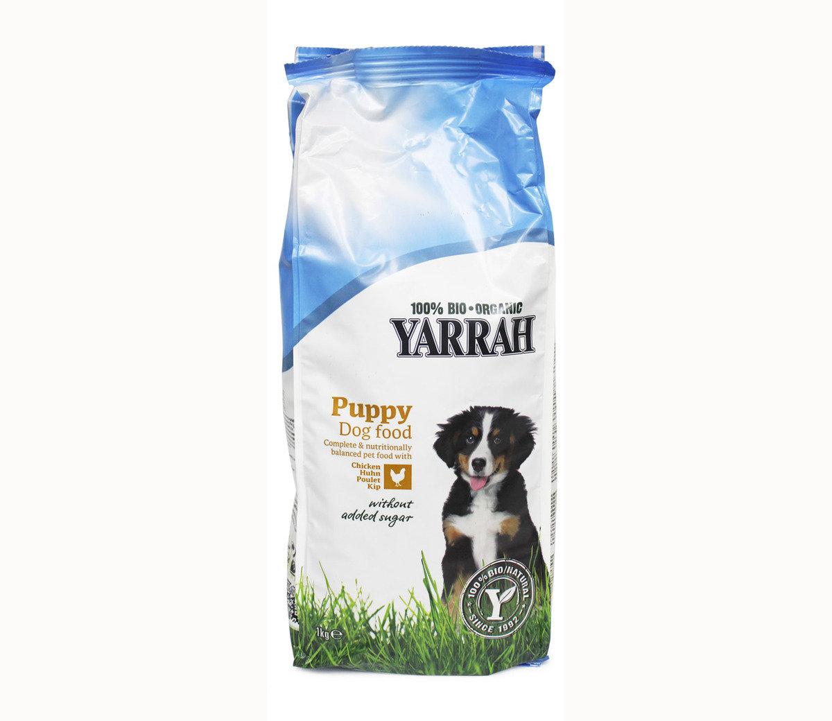 100%有機幼犬及小型品種犬雞肉配方(1公斤)