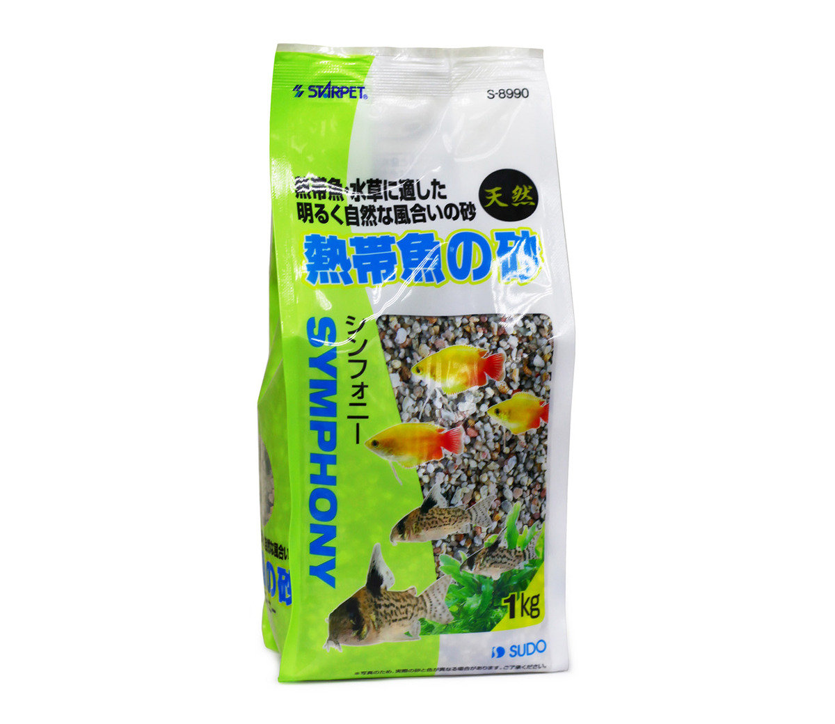 シソフォニ 熱帶魚專用砂(1公斤)