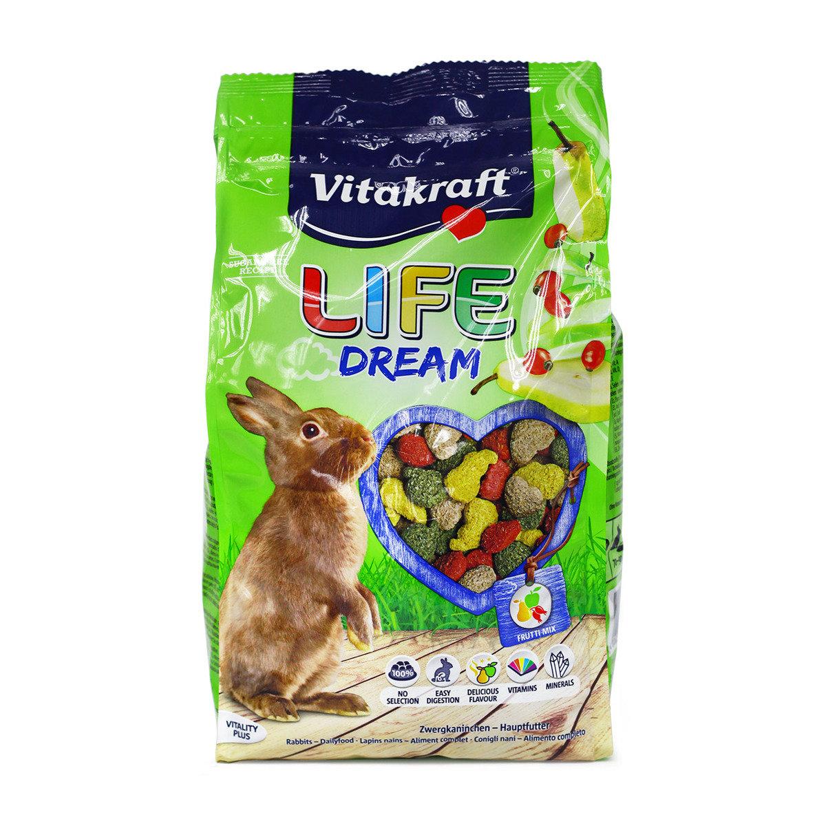 啤梨生果混合兔糧(600克)