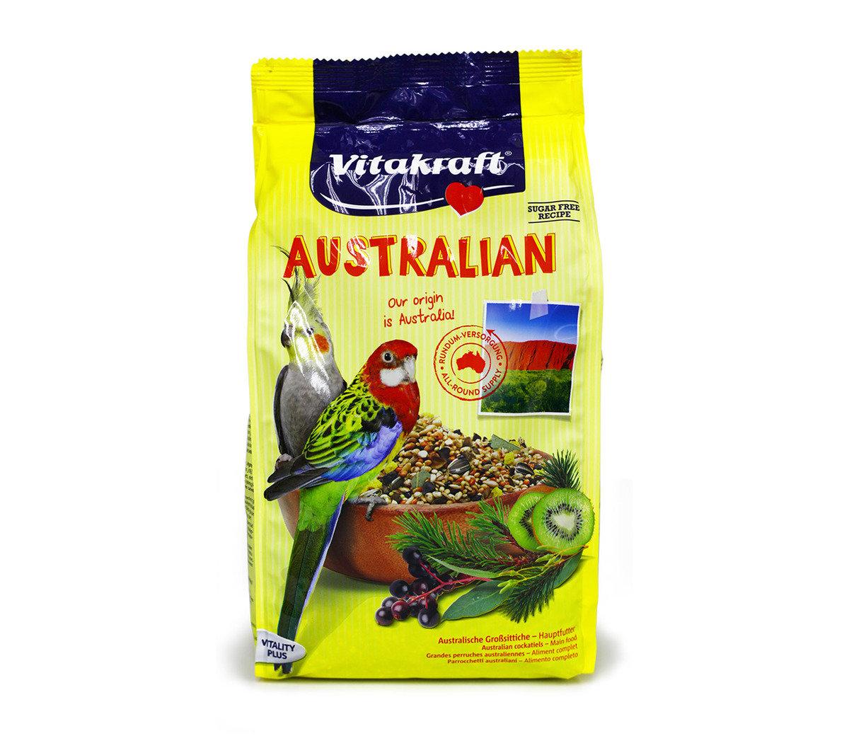 澳大利亞玄鳳鸚鵡飼料(750克)