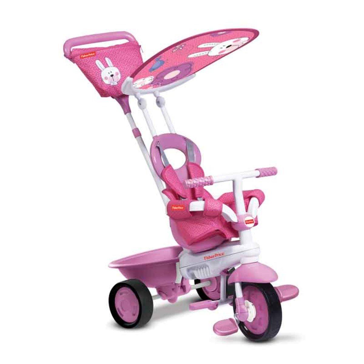 費雪牌 Elite嬰幼3合1三輪車 - 粉紅色