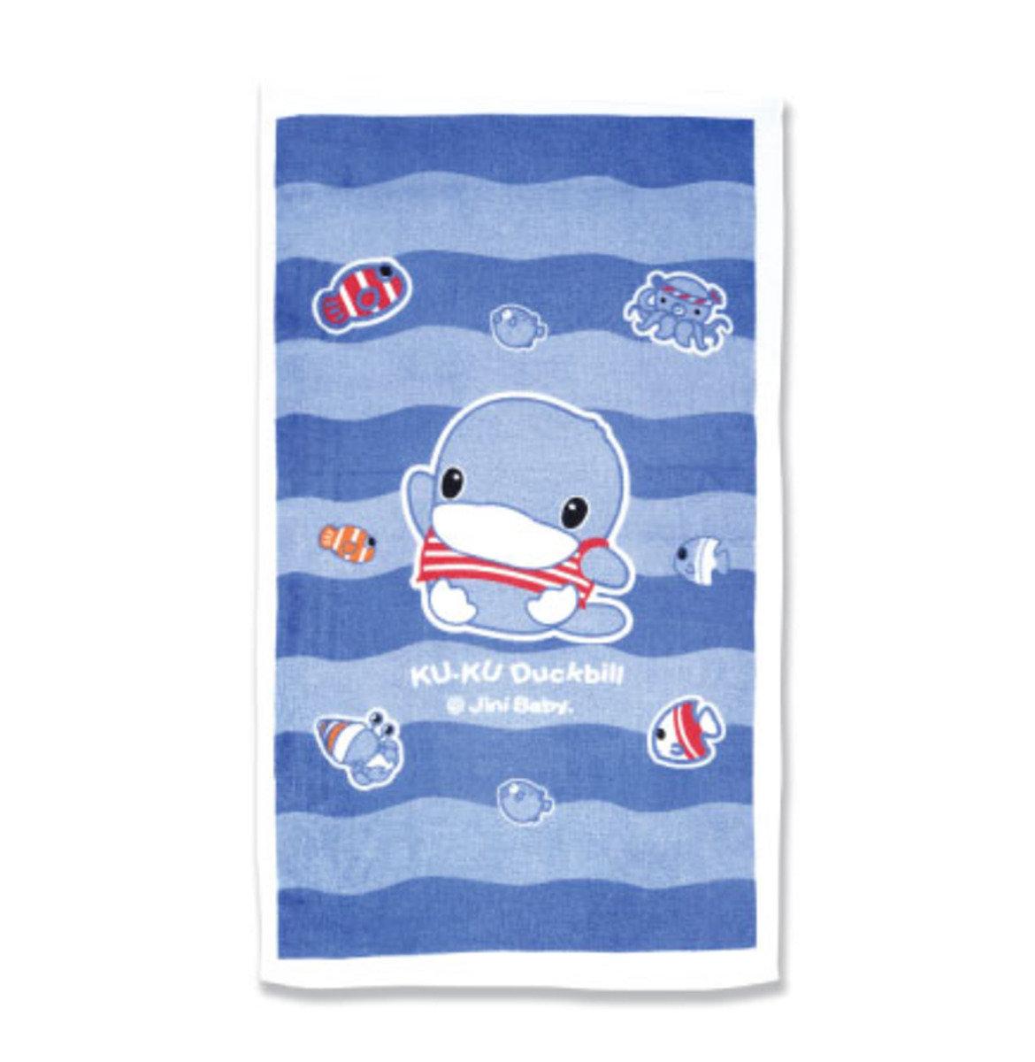 兒童大浴巾 (藍色)