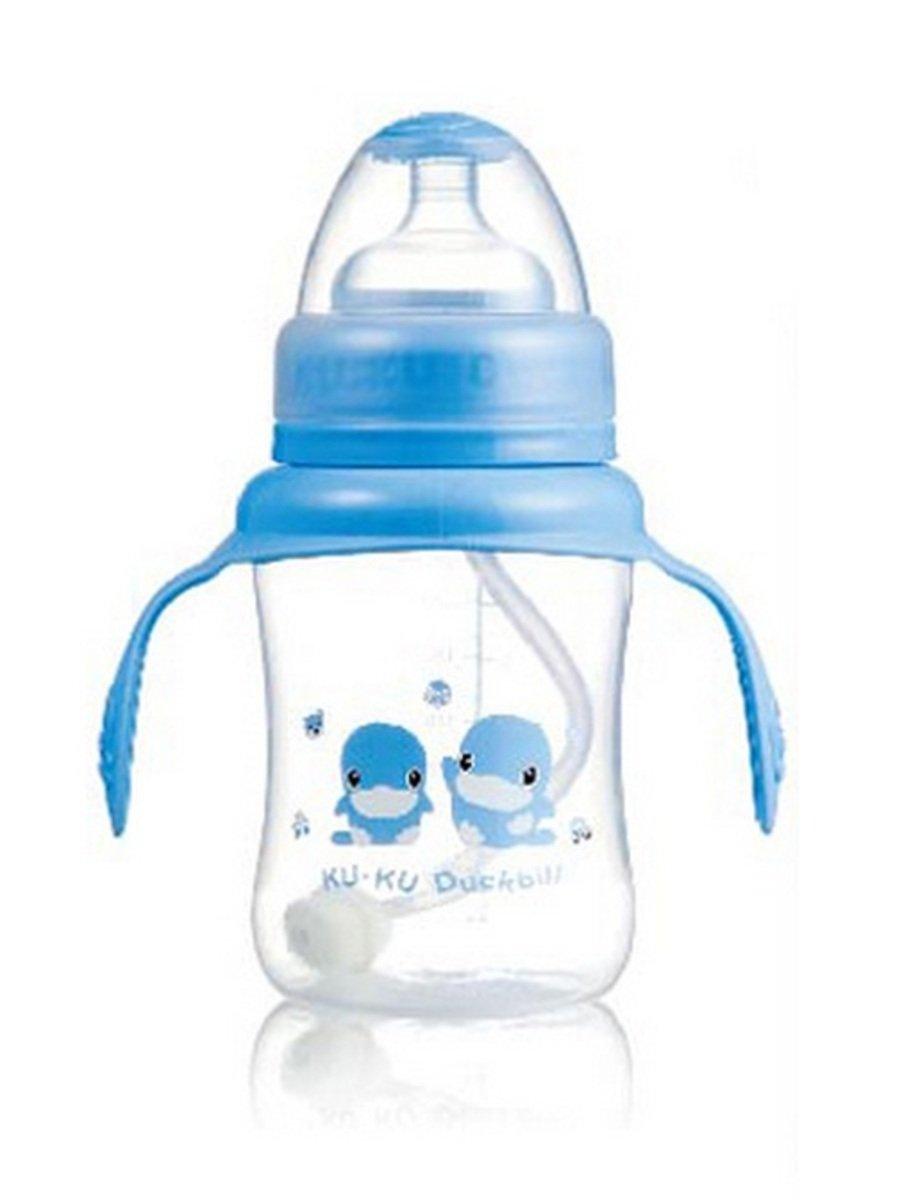 晶鑽PP成長奶瓶 (藍色) - 230ml