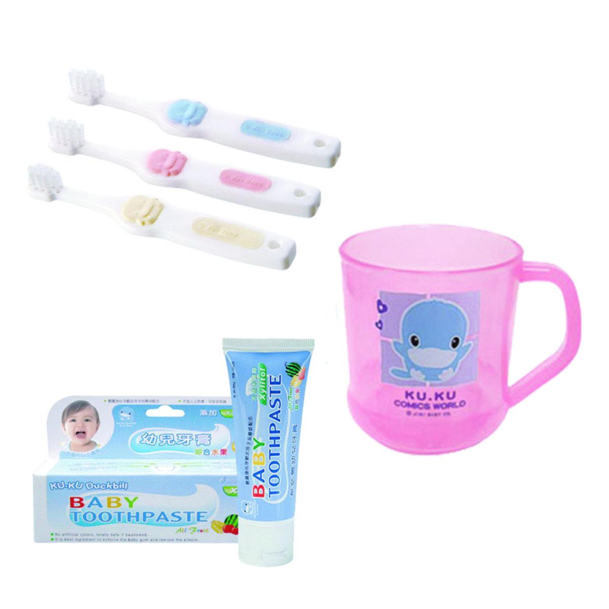清潔牙齒優惠組 (粉紅色)