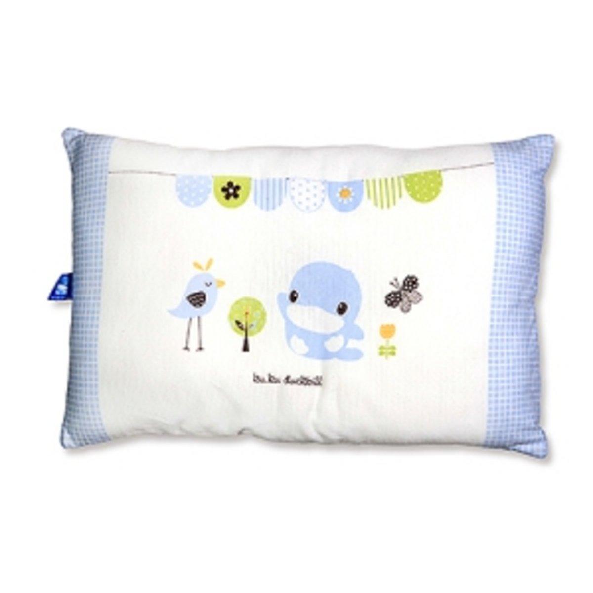嬰兒四季枕 (藍色)