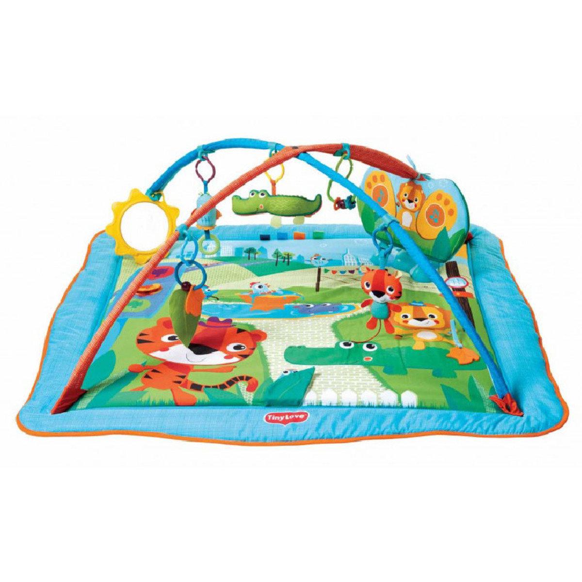 Tiny Love Gymini Kick Play City Safari Hktvmall Online Shopping Baby Gift Aquarium Playgym