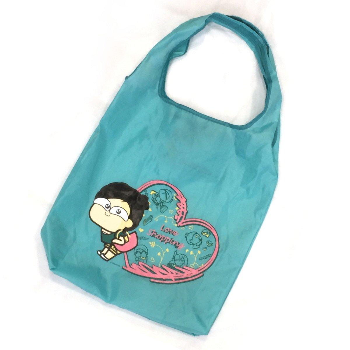 馬仔摺合式購物袋 (綠色)