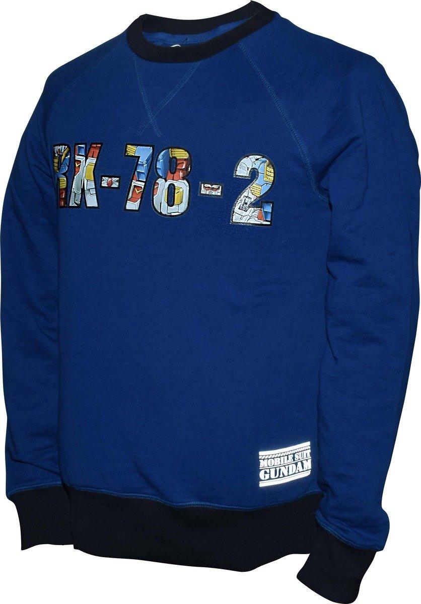 機動戰士(高達)藍色衛衣-23