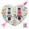 nanoblock 情侶裝DIY手錶 *情人節特別版*