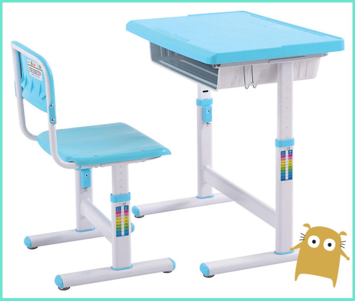 新款人體工學書桌椅