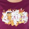 Garfield, 女裝修身短Tee