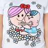Mr. Men Little Miss, 女裝修身短Tee