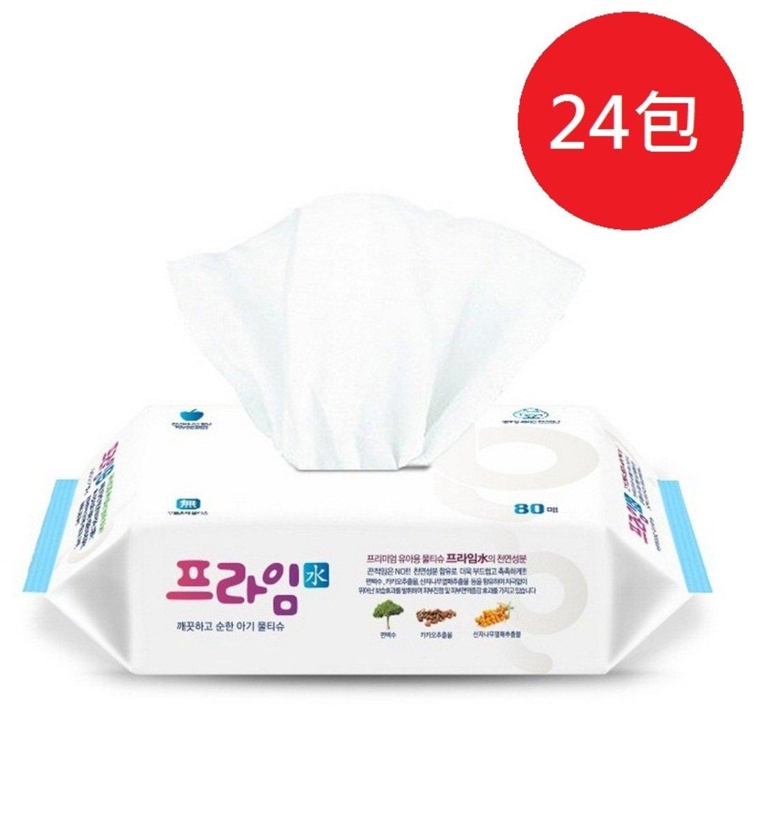 Prime 天然水潤濕紙巾