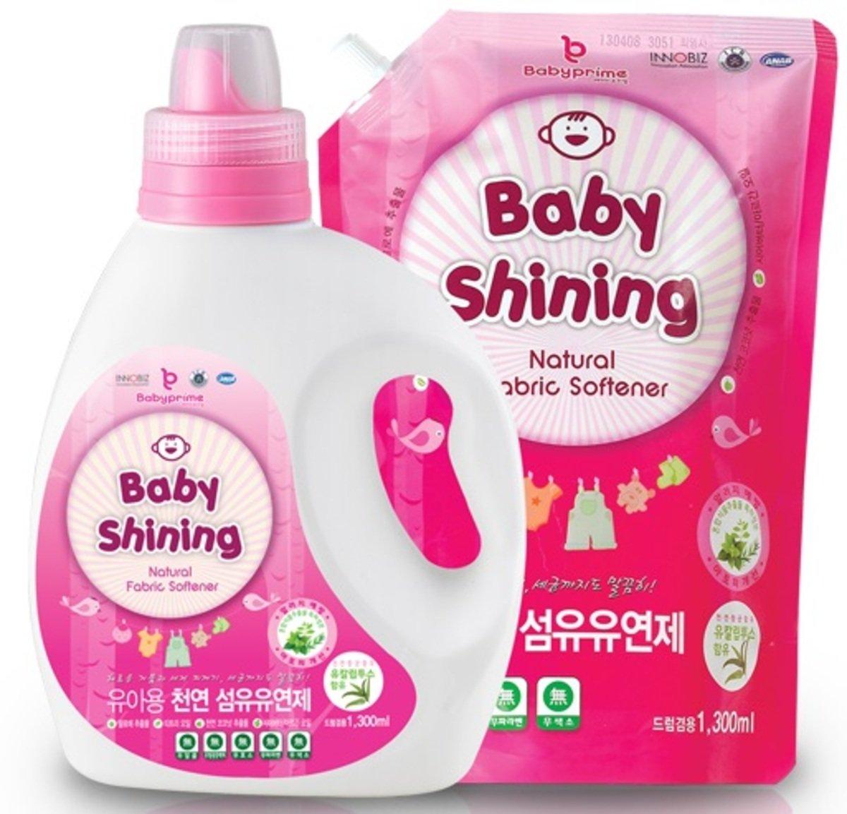 嬰兒天然柔順劑連補充裝