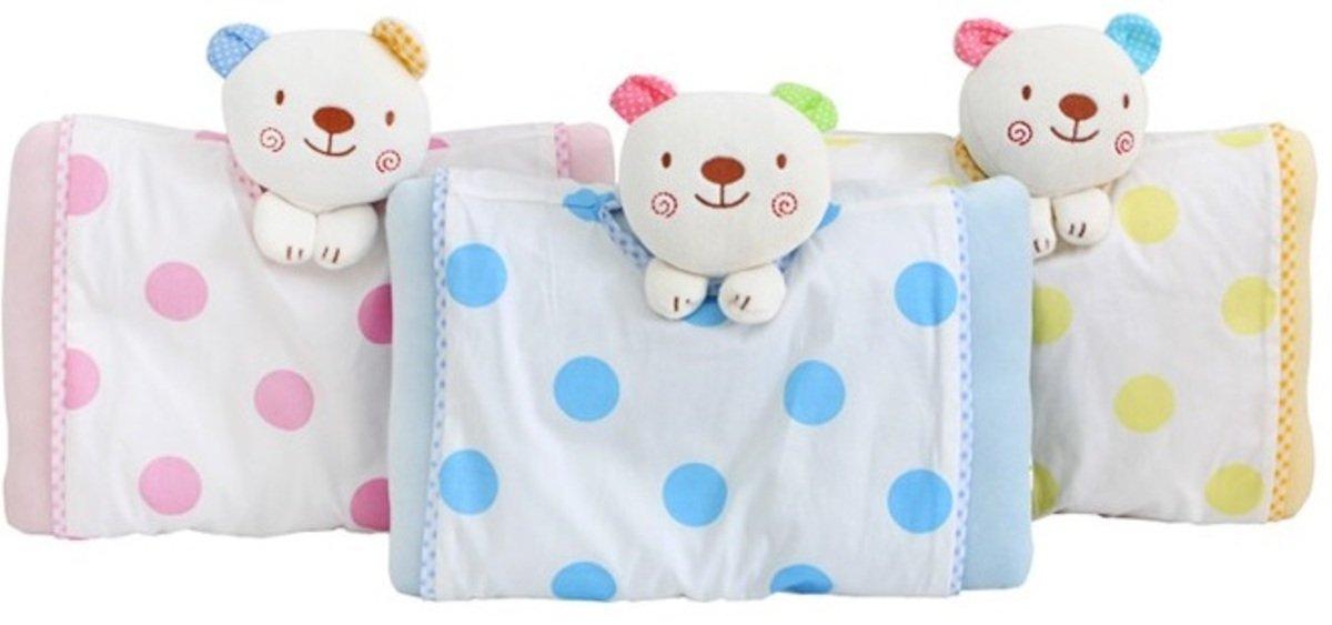 嬰兒枕(立體小熊)