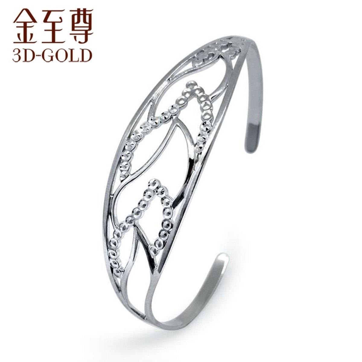 18K/750金(白色)手鐲