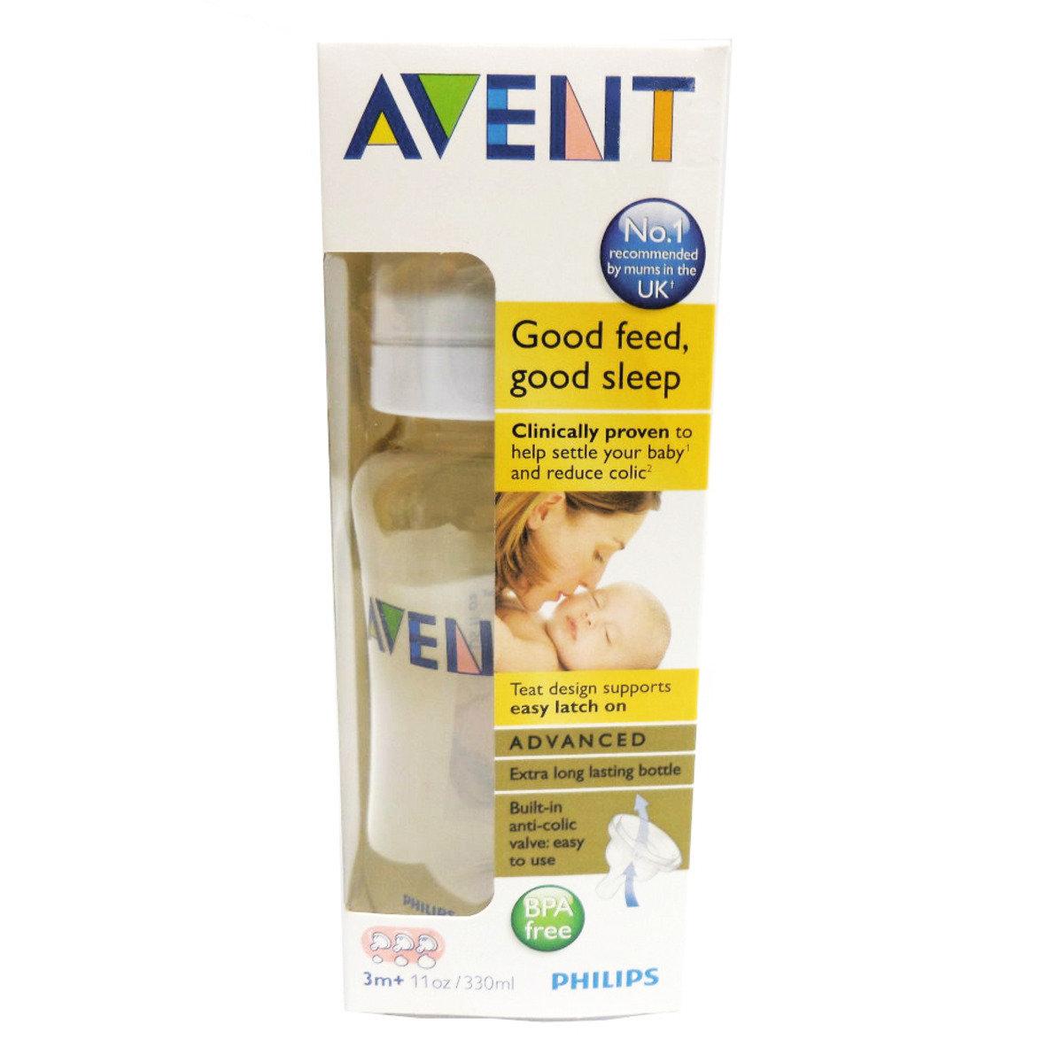 Avent 嬰兒奶瓶 (11安士/330毫升容量)