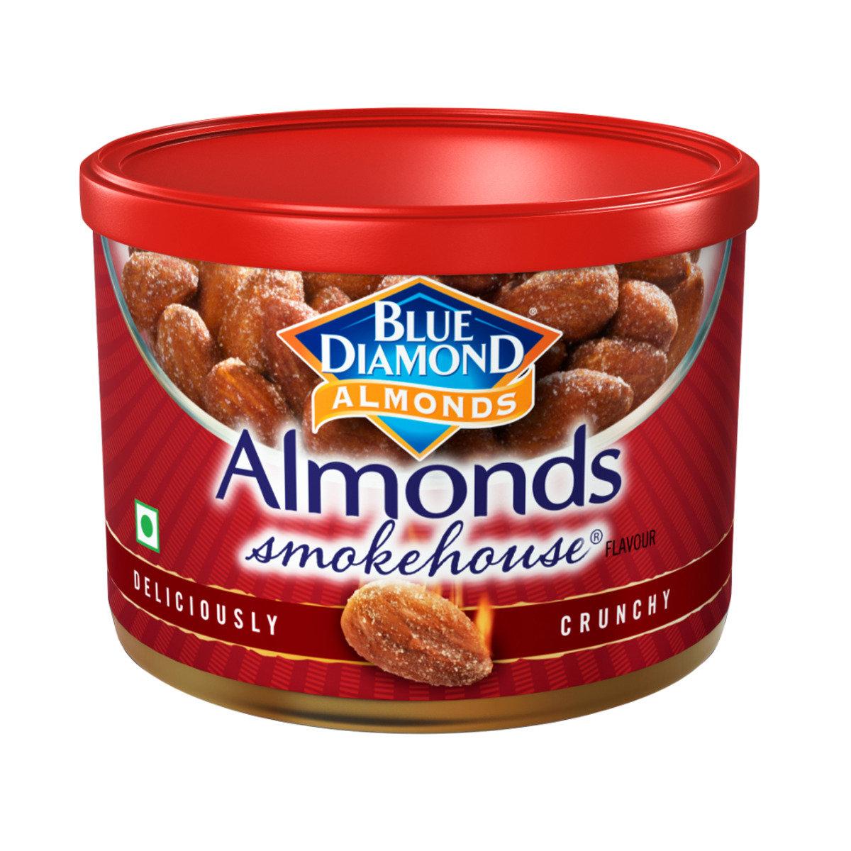 美國藍鑽石 罐裝煙焗杏仁 150克