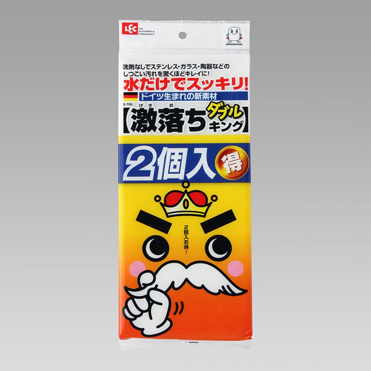 LEC激落君 多用途免清潔劑海綿 (2個裝)