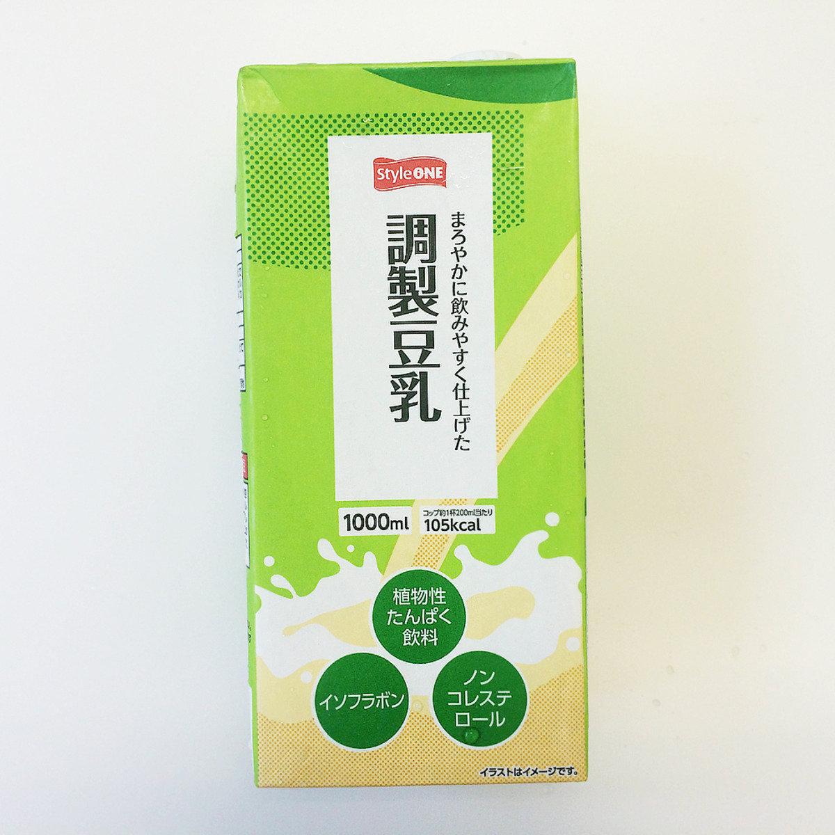 Style One 調整豆乳 1公升