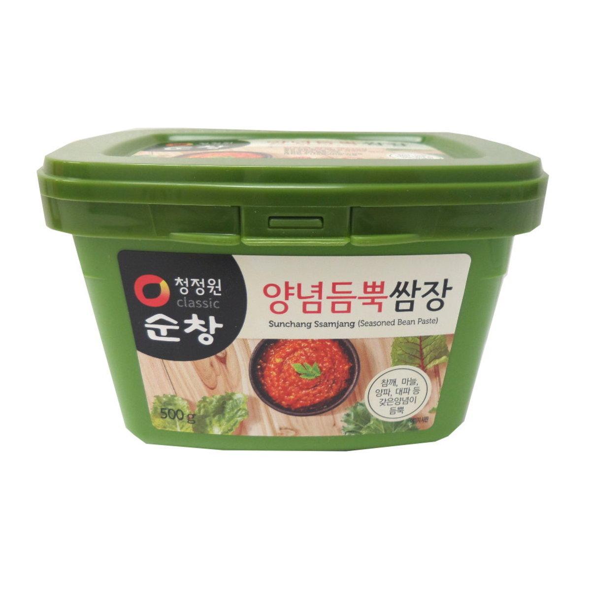 清淨園 韓國麵豉醬(已調味) 500克
