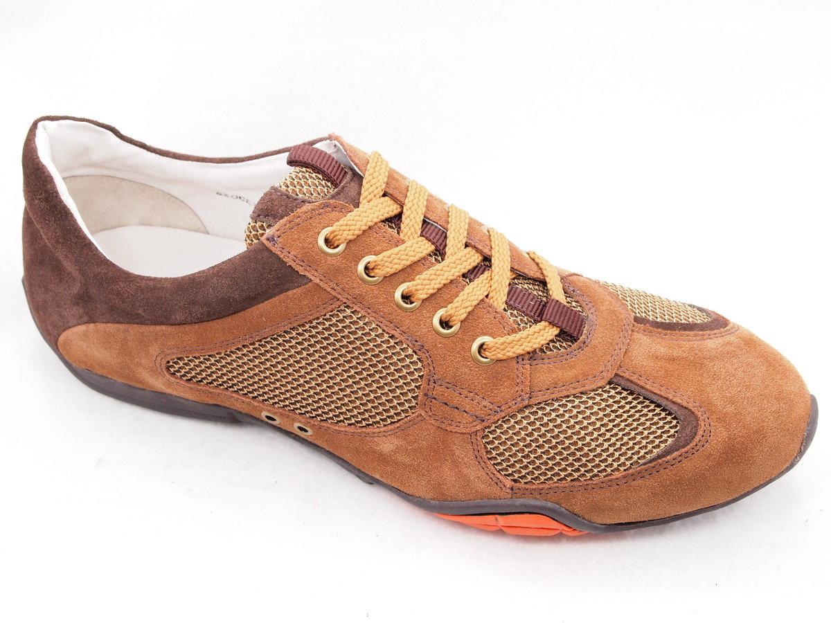 EXOCET 麂皮綁帶運動鞋